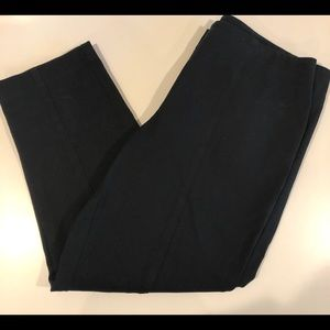🍁 Chico's size 6 (0) Black Ankle Pants